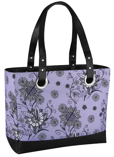 Сумка-холодильник Thermos Raya 24 Can  Tote-Purple Flower (20L)