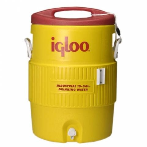 Изотермический пластиковый контейнер Igloo 10 Gallon 400 Series Beverage Cooler