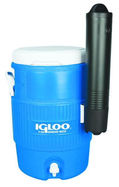 Изотермический пластиковый контейнер Igloo 5 Gal Seat Top blue